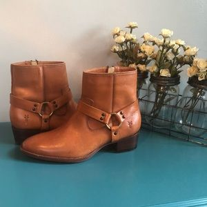 Frye Dara Harness Ankle Boots